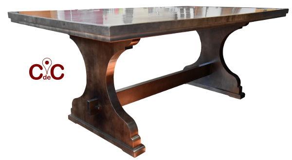 mesa-pie-castellano-madera-maciza-a-medida